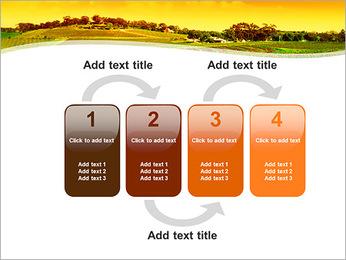 Campagne Paysage Modèles des présentations  PowerPoint - Diapositives 11
