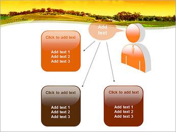 Campagne Paysage Modèles des présentations  PowerPoint - Diapositives 12