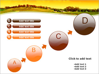 Campagne Paysage Modèles des présentations  PowerPoint - Diapositives 15