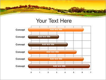 Campagne Paysage Modèles des présentations  PowerPoint - Diapositives 17