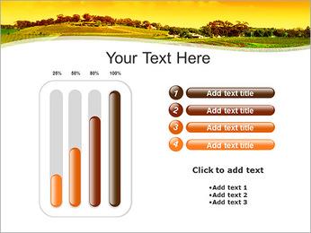 Campagne Paysage Modèles des présentations  PowerPoint - Diapositives 18