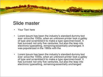 Campagne Paysage Modèles des présentations  PowerPoint - Diapositives 2