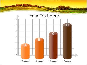Campagne Paysage Modèles des présentations  PowerPoint - Diapositives 21