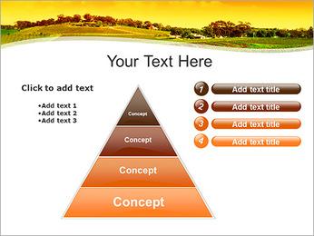 Campagne Paysage Modèles des présentations  PowerPoint - Diapositives 22