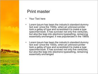 Campagne Paysage Modèles des présentations  PowerPoint - Diapositives 24