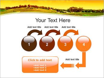 Campagne Paysage Modèles des présentations  PowerPoint - Diapositives 4