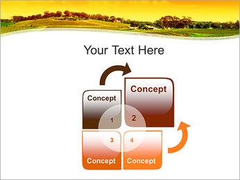 Campagne Paysage Modèles des présentations  PowerPoint - Diapositives 5