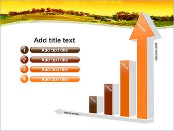 Campagne Paysage Modèles des présentations  PowerPoint - Diapositives 6