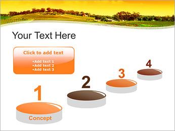 Campagne Paysage Modèles des présentations  PowerPoint - Diapositives 7