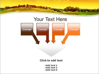 Campagne Paysage Modèles des présentations  PowerPoint - Diapositives 8