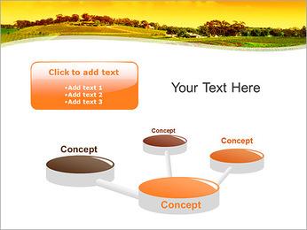 Campagne Paysage Modèles des présentations  PowerPoint - Diapositives 9