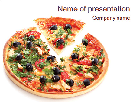 Italian Pizza Powerpoint Template Backgrounds Id 0000003410