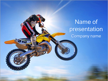 Motorbike powerpoint template smiletemplates motorbike extreme ride powerpoint template toneelgroepblik Image collections