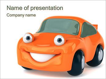 Sourire voiture Modèles des présentations  PowerPoint - Diapositives 1