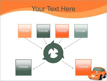 Sourire voiture Modèles des présentations  PowerPoint - Diapositives 10