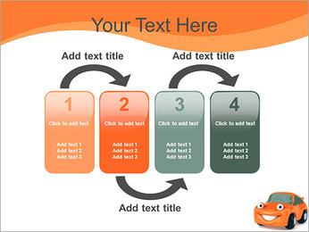 Sourire voiture Modèles des présentations  PowerPoint - Diapositives 11