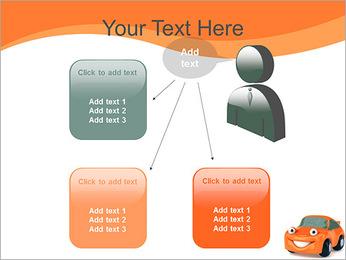 Sourire voiture Modèles des présentations  PowerPoint - Diapositives 12