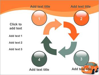 Sourire voiture Modèles des présentations  PowerPoint - Diapositives 14
