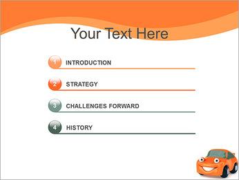 Sourire voiture Modèles des présentations  PowerPoint - Diapositives 3