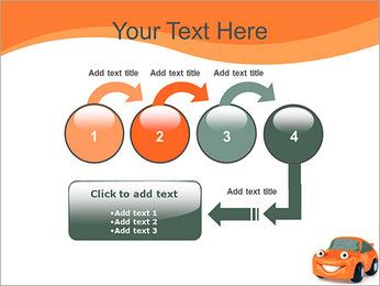 Sourire voiture Modèles des présentations  PowerPoint - Diapositives 4