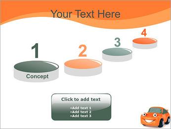 Sourire voiture Modèles des présentations  PowerPoint - Diapositives 7