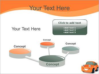 Sourire voiture Modèles des présentations  PowerPoint - Diapositives 9