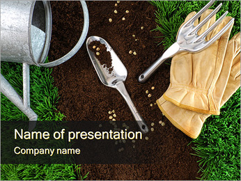 Planting PowerPoint Template