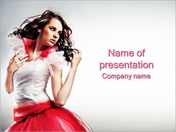 Stylish Woman PowerPoint Template