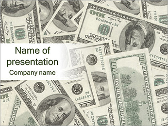 US Dollars PowerPoint Template