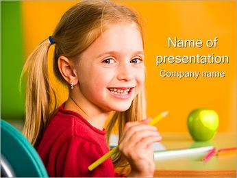 Drenaje de las niñas Plantillas de Presentaciones PowerPoint