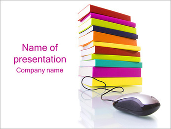 E-Books PowerPoint Template
