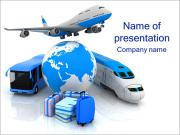 Kinds Of Transportation PowerPoint Templates