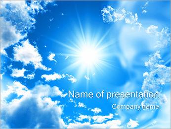Shining Sun PowerPoint Template