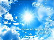Shining Sun PowerPoint Templates