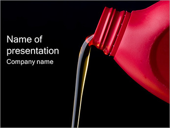 Oil For Your Car PowerPoint Template