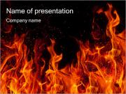 Huge Fire PowerPoint Templates