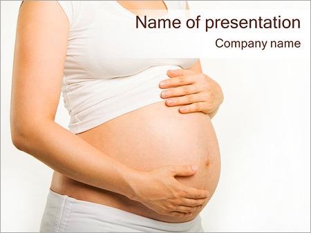 Newborn powerpoint template smiletemplates pregnancy period powerpoint template toneelgroepblik Images