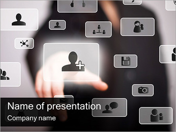 Innovative Touch Screen PowerPoint Template