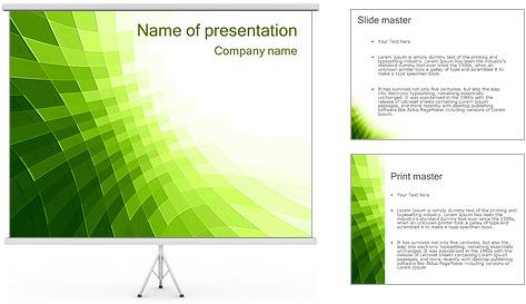 Vert Abstraction conception Modèles des présentations  PowerPoint