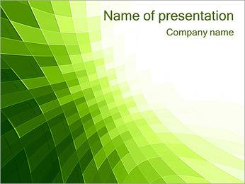 Vert Abstraction conception Modèles des présentations  PowerPoint - Diapositives 1