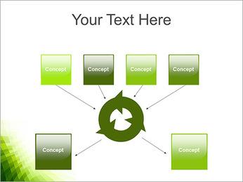 Vert Abstraction conception Modèles des présentations  PowerPoint - Diapositives 10
