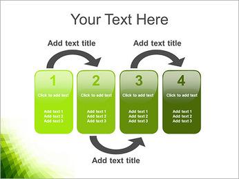 Vert Abstraction conception Modèles des présentations  PowerPoint - Diapositives 11
