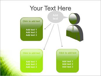 Vert Abstraction conception Modèles des présentations  PowerPoint - Diapositives 12
