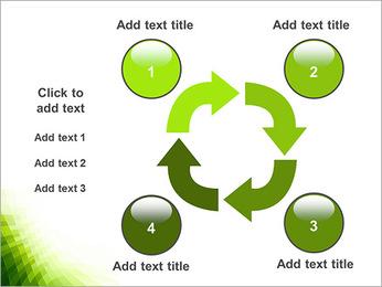 Vert Abstraction conception Modèles des présentations  PowerPoint - Diapositives 14