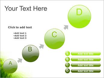 Vert Abstraction conception Modèles des présentations  PowerPoint - Diapositives 15