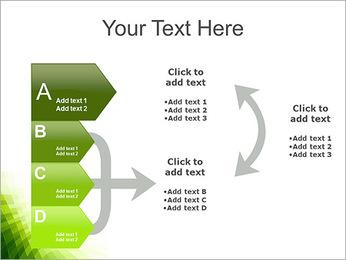 Vert Abstraction conception Modèles des présentations  PowerPoint - Diapositives 16