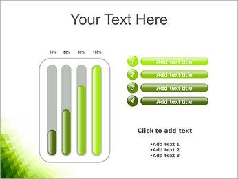 Vert Abstraction conception Modèles des présentations  PowerPoint - Diapositives 18