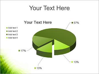 Vert Abstraction conception Modèles des présentations  PowerPoint - Diapositives 19
