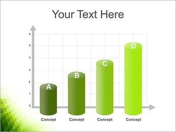 Vert Abstraction conception Modèles des présentations  PowerPoint - Diapositives 21