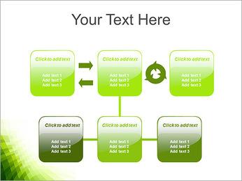 Vert Abstraction conception Modèles des présentations  PowerPoint - Diapositives 23